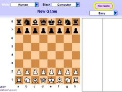 Игра в шахматы с компьютером без регистрации